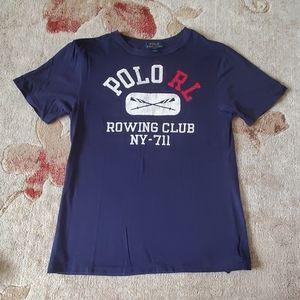 Ralph Lauren rowing club tee shirt